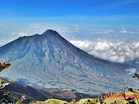 Mount Merbabu Central Java Indonesia