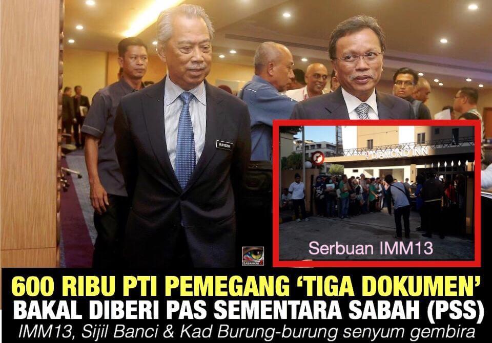 Pas Sementara Sabah