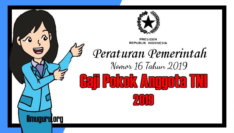 PP Nomor 16 Tahun 2019