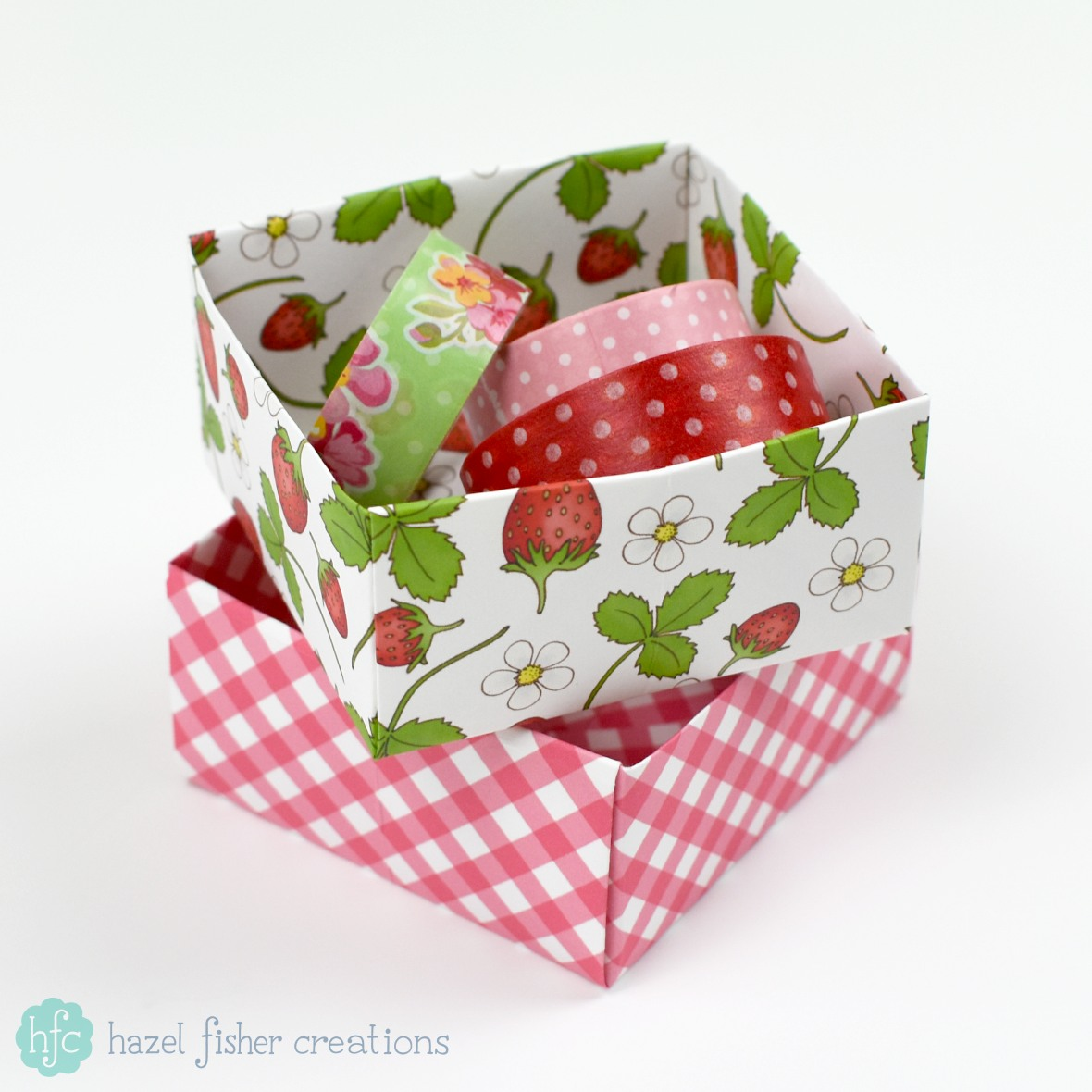 Hazel Fisher Creations: Origami Box Tutorial - photo#20