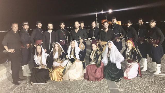 Ο Μουσικοχορευτικός Όμιλος Ερωτόκριτος συμμετείχε στο 3ο Φεστιβάλ Παραδοσιακών χορών στο Ναύπλιο