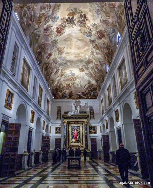 Obras de El Greco na Sacristia da Catedral de Toledo