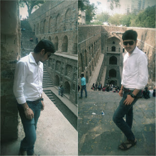 A trip to Agrasen ki Baoli - Rishabh Datta