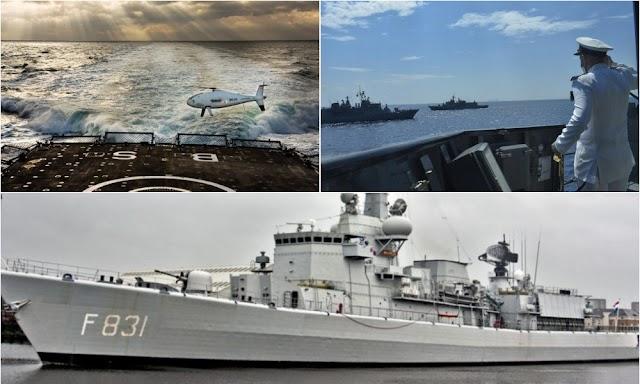 Θωρακίζεται το ΠN: Πανίσχυρο drone δοκιμάστηκε σε ελληνικό πλοίο-Η τελική «μάχη» για τις νέες φρεγάτες του Στόλου-Οι 4 φιναλίστ