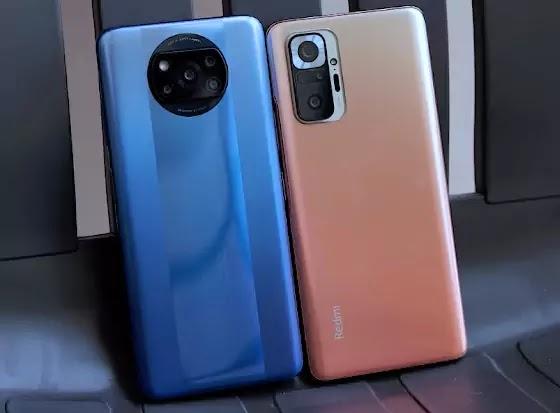 تصميم POCO X3 Pro مقابل Redmi Note 10 Pro