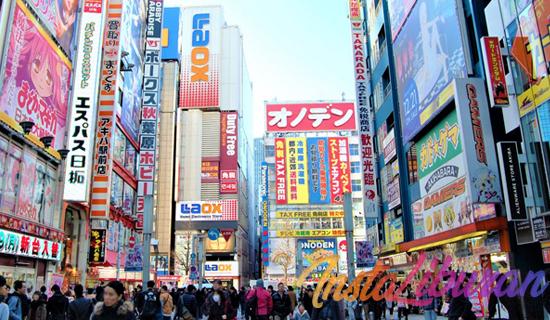 InstaLiburan - 5 Hal yang bisa dilakukan di Akihabara Tokyo