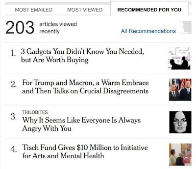 Why it seems like the NYT knows everyone is always angry at me.