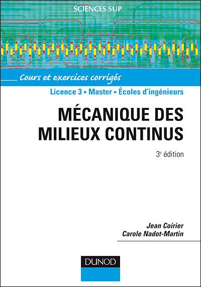 Cours de Mécanique des milieux continus ME6
