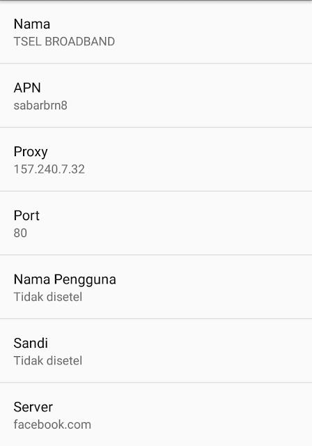 Seting APN gratis telkomsel