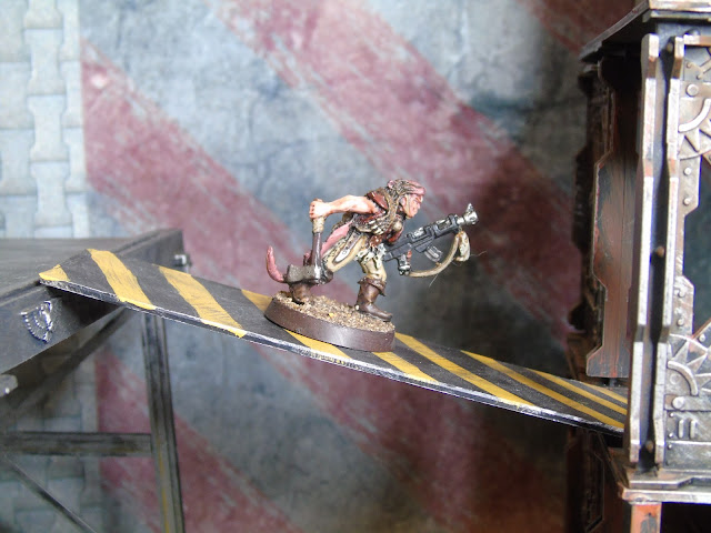 necromunda rat skin scout painted