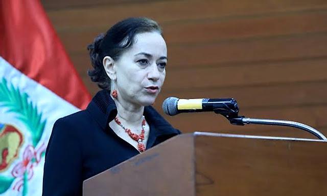 Ana Revilla, Ministra de Justicia y Derecho Humanos