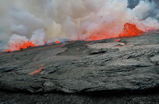 Active volcanoes of the world, Democratic Republic of Congo