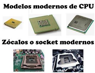 Zócalos y microprocesadores