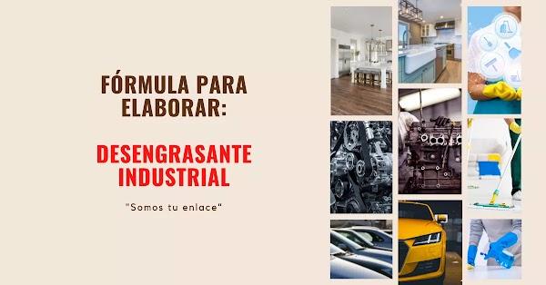 ▷ Desengrasante industrial formula para pisos color azul