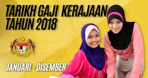Thumbnail image for Tarikh Gaji Kakitangan Kerajaan / Penjawat Awam Tahun 2018