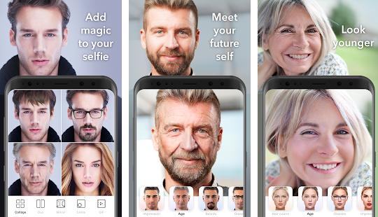 FaceApp Mod Apk Screenshots