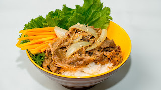 Cara Membuat Beef Yakiniku Yoshinoya
