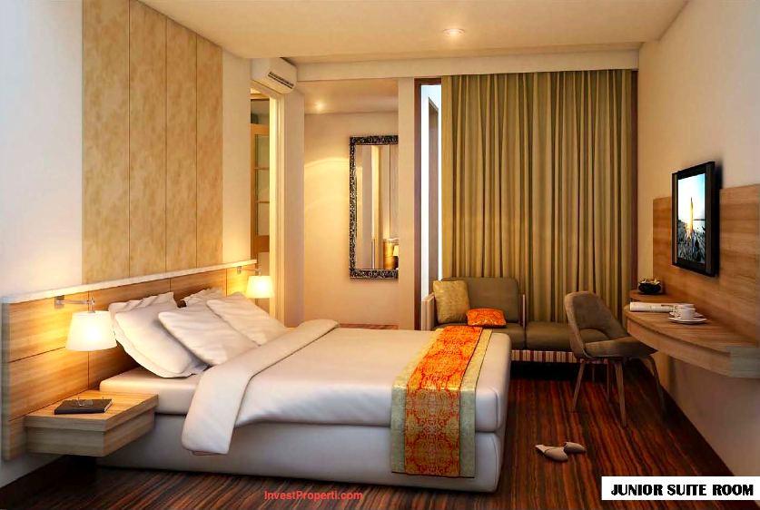 design interior kamar hotel horison jimbaran condotel