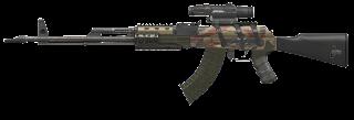 Senapan Serbu Kalashnikov AK-107 (Alexandrov / Kalashnikov)