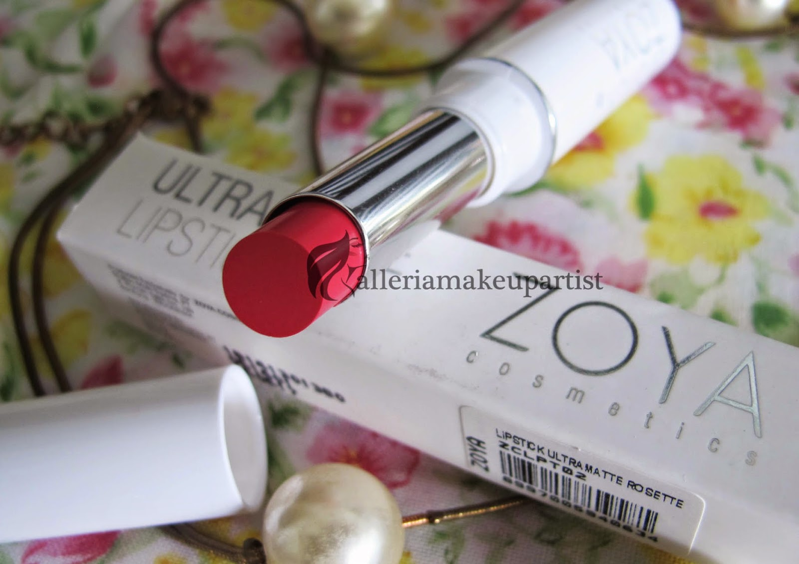 ZOYA ULTRAMATTE LIPSTICK - REVIEW | alleriamakeupartist