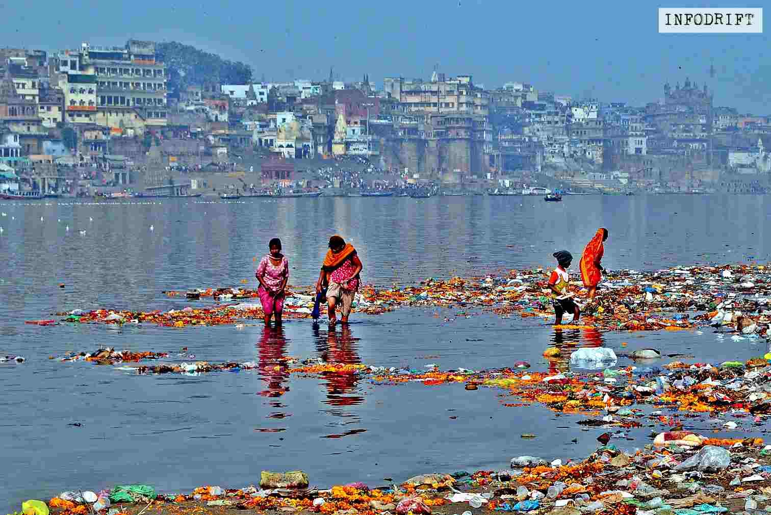 Polluted Ganga