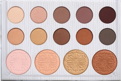 Cruelty free Cosmetics Carli Bybel - BH cosmetics 14 Color Eyeshadow & Highlighter Palette by barbies beauty bits