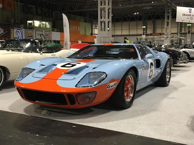 Ford GT40 1960s endurance racing sports car