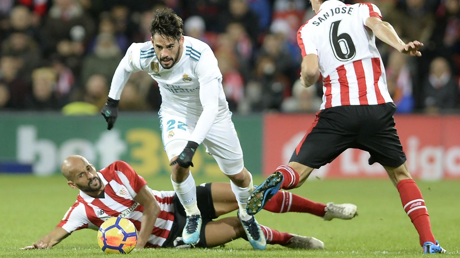 نتيجة مباراة ريال مدريد وأتلتيك بلباو بتاريخ 22-12-2019 الدوري الاسباني