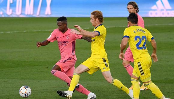 Real Madrid vs. Cádiz EN VIVO EN DIRECTO: minuto a minuto y canales por LaLiga Santander 2020