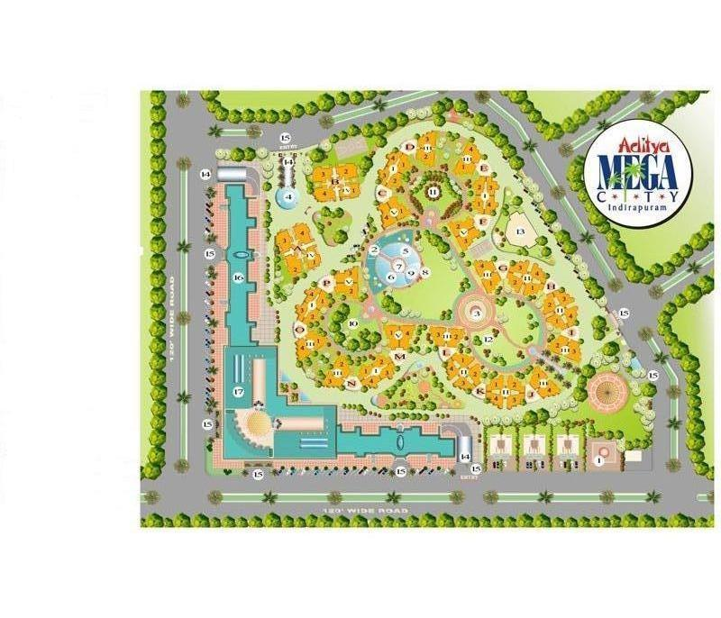 layout-plan-aditya-mega-city-indirapuram