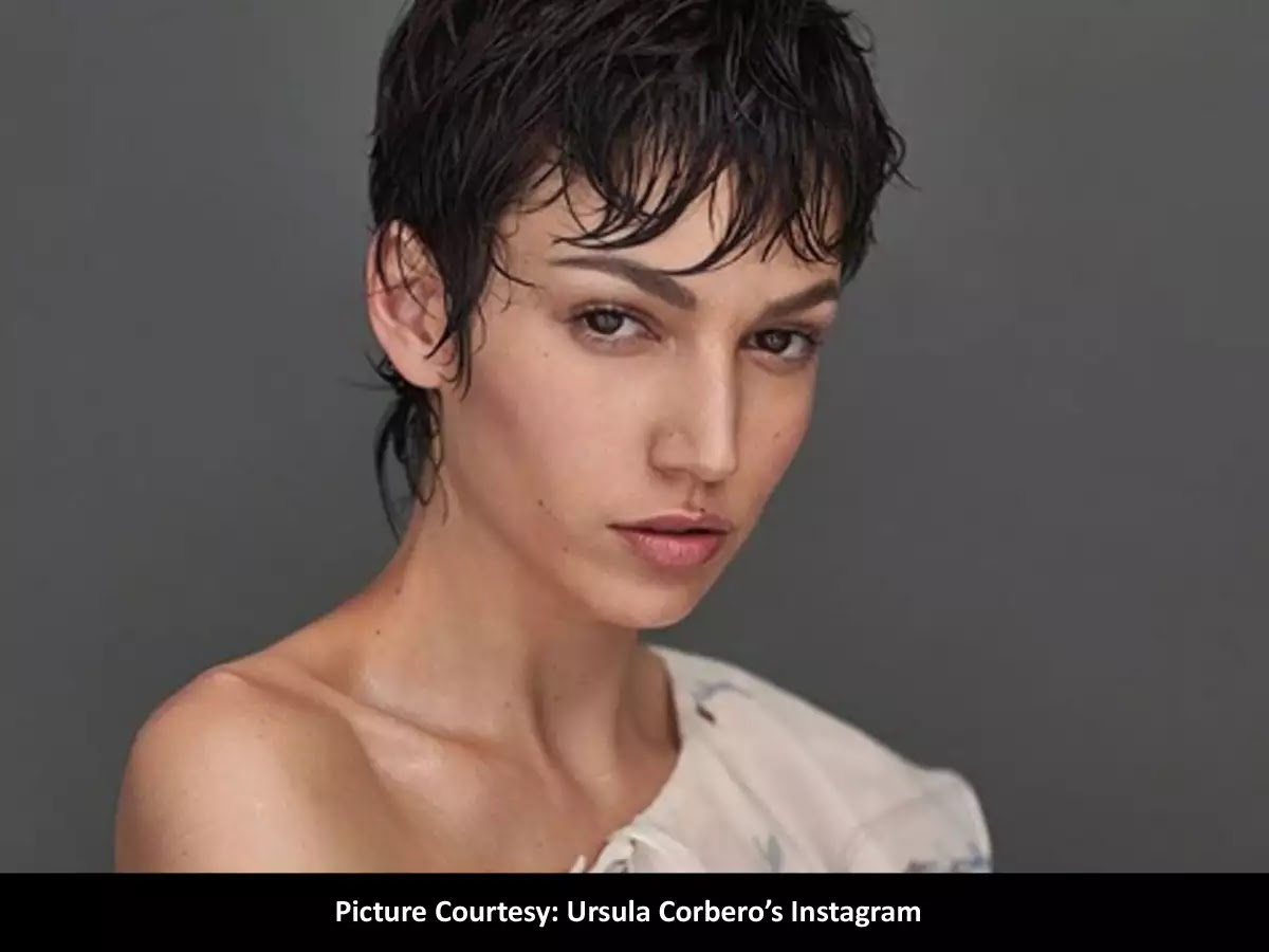 Ursula Corbero beauty look