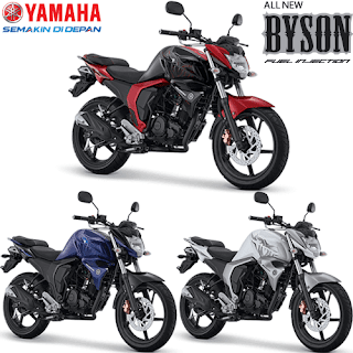 Warna Yamaha Byson FI New Injection 2017