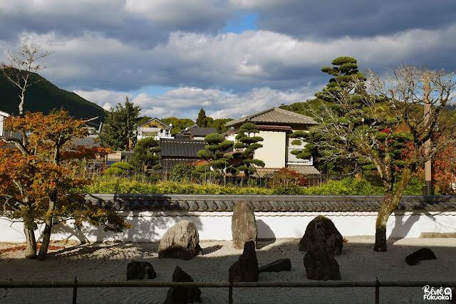 光明禅寺の枯山水、太宰府、福岡