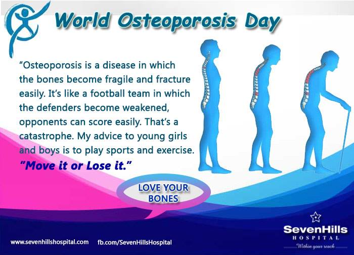 World Osteoporosis Day Wishes Unique Image