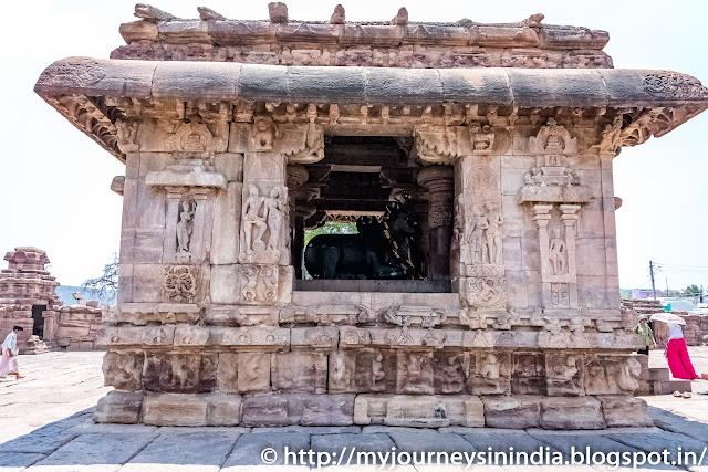 Pattadakal Nandi Mantapa