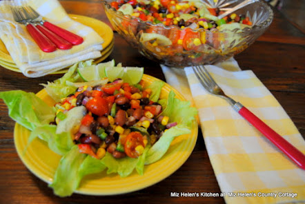 Southwest Salad with Spicy Dressing