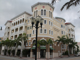 Edificios en el downtown de Ft Pierce