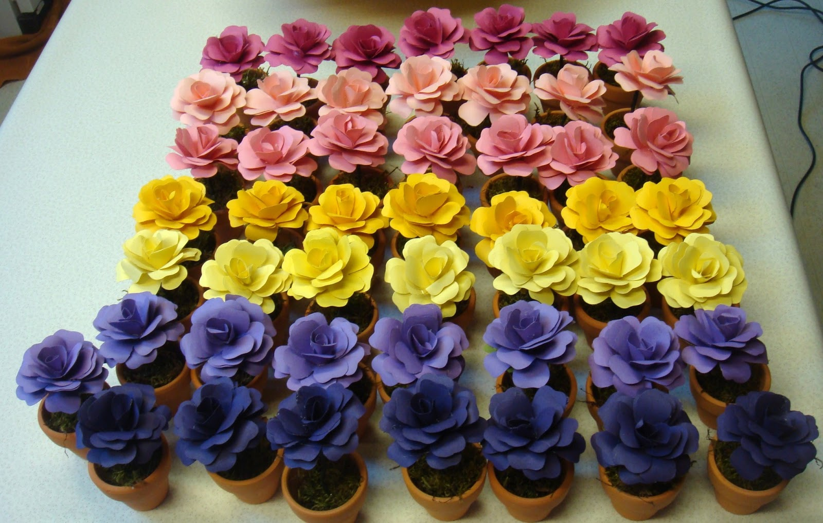 Magnificent Paper Wedding Flowers Vignette Real Weddings Yellow