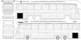 Template Bussid JB3/Arjuna XHD/Bimasena SDD/Evolander Terbaru