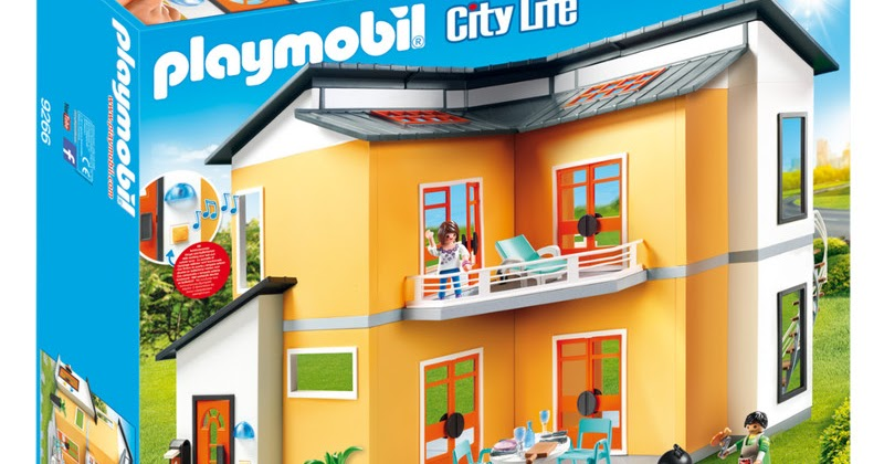 Zona juguetes diversi n m xima playmobil city life for Casa moderna habbo 2017