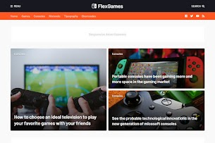 FlexNews Responsive Blog & Magazine Blogger Template