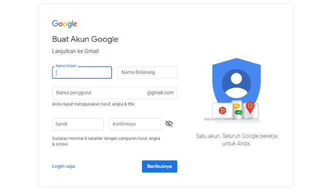 Cara Membuat Akun Gmail Mudah dan Cepat