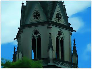 Detalhe da Torre da Igreja Santa Teresinha, Porto Alegre