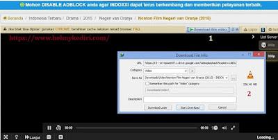 Cara download film disitus indoxxi 1