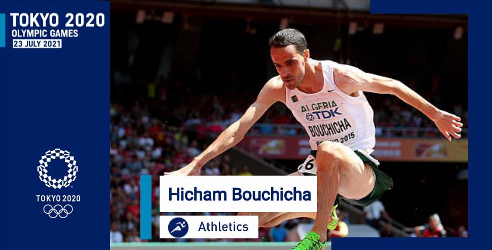 العداء الجزائري هشام بوشيشة يتأهل إلى الألعاب الأولمبية