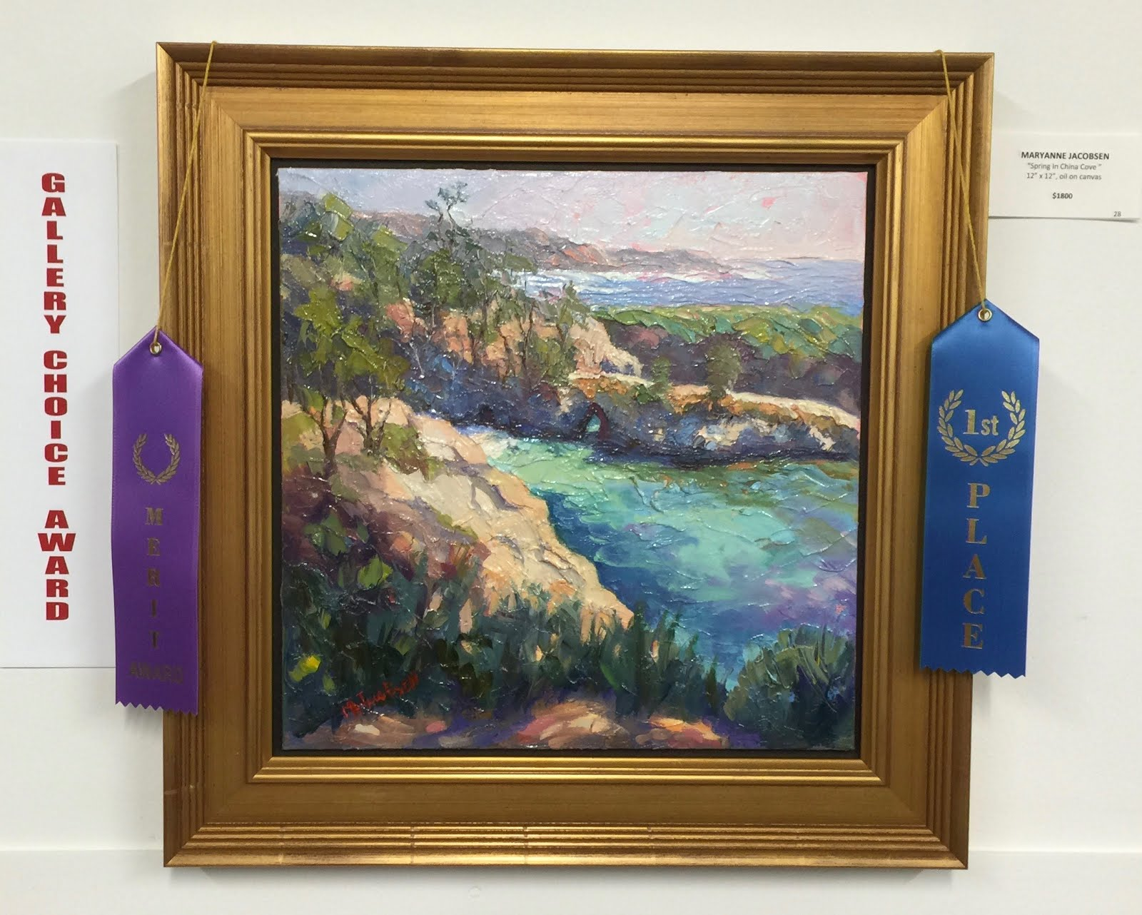 First Place and Gallery Choice Award!
