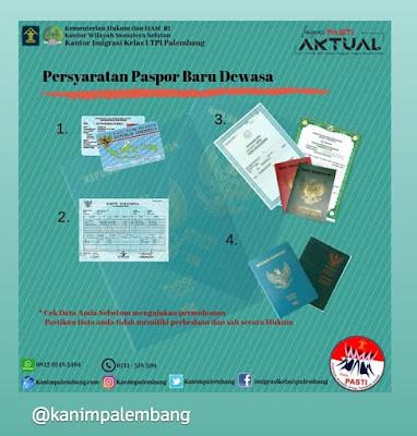 persyaratan membuat paspor baru dewasa