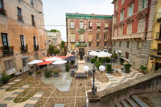 Piazza Carlo Alberto-Quartiere Castello-Cagliari