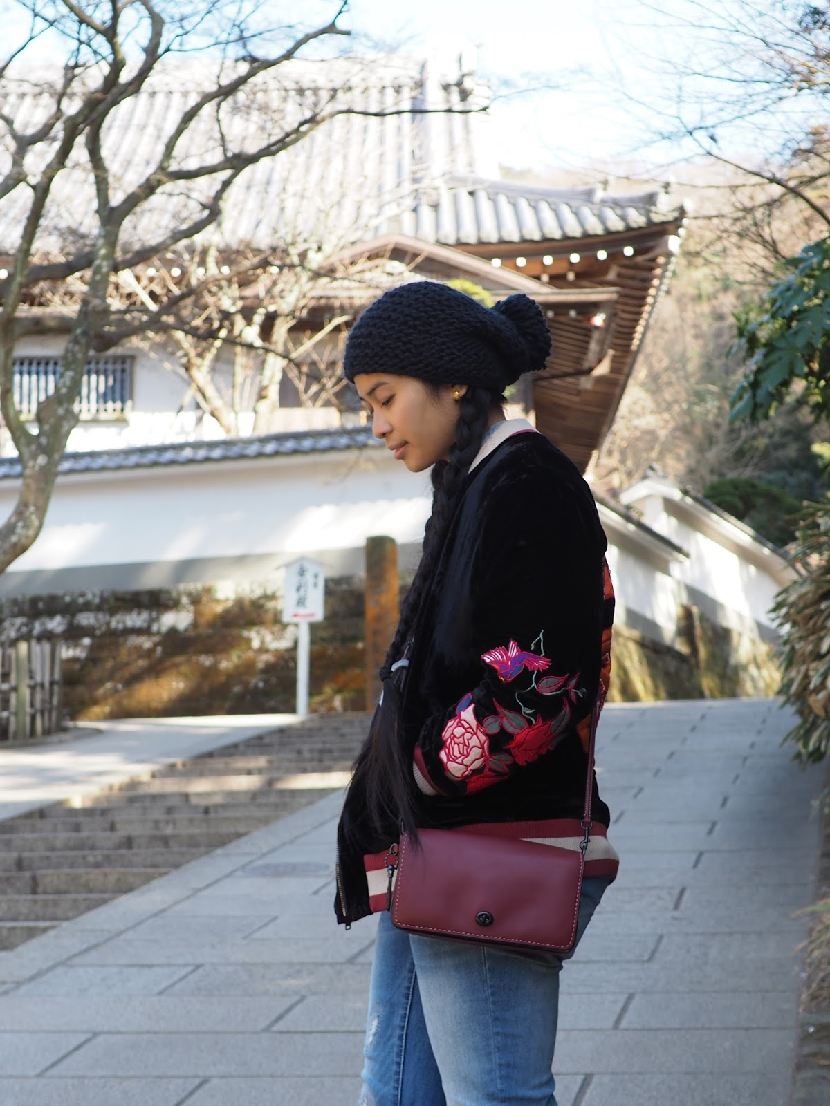 ootd urban outfitters fashion forever 21 japan tokyo kanagawa kamakura Coach Dinky