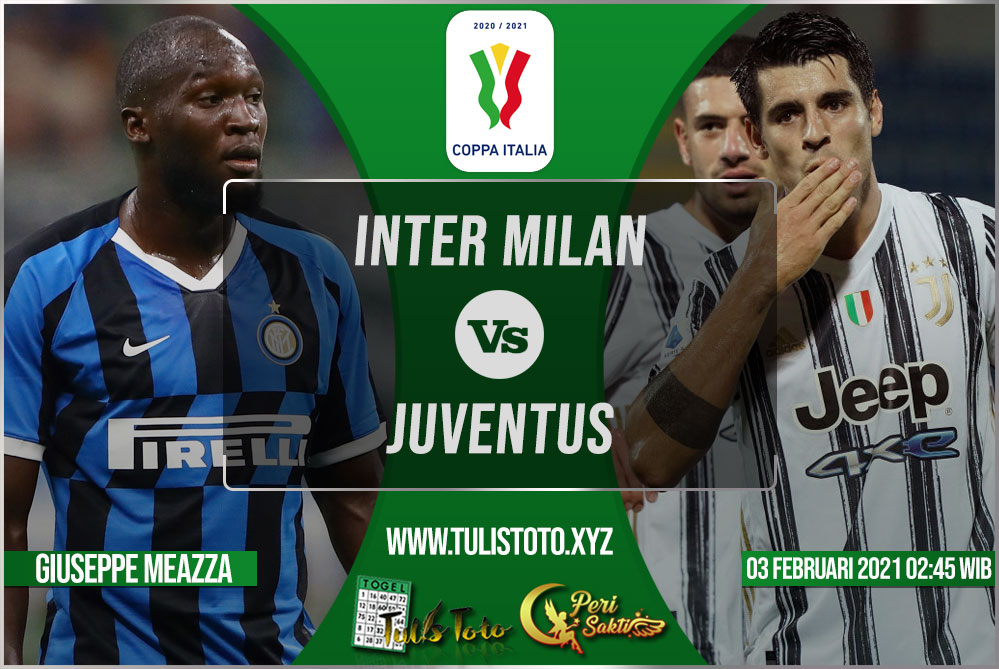 Prediksi Inter Milan vs Juventus 03 Februari 2021